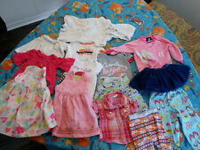 Girl's Size 12 Months Lot of 14 Pcs HealthTex Old Navy Carters NFL 3 Pounds!