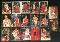 Toni Kukoc-CHI Bulls-17 Cards-1994-98-Hoops RC/Skybox/Fleer /Topps RC/Upper Deck
