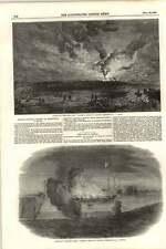 1855 la combustione della Santa Maria Fregata in Sebastopol Harbour