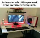 Business for sale Up to $999+ per week ZERO INVESTMENT REQUIRED