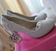 Young Covery  Scarpe Decolte' sabbia beige avorio  N36  New