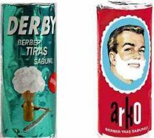 Arko Derby Shaving Soap Stick Set Shaving Cream Gel Foam Traditional Wet Shave