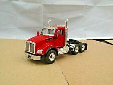 First Gear Viper red Kenworth T880 daycab tractor new no box 1/50