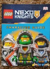 DK Lego Nexo Knights Character Guide Softcover Book