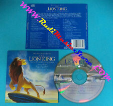 CD The Lion King(Original Motion Picture Soundtrack) WDR 477177-2 ITALY 94(OST1)