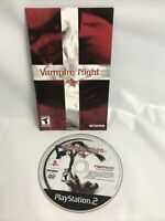 Vampire Night (Sony PlayStation 2 PS2) Disc And Manual Only - Tested
