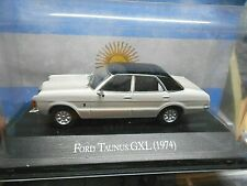 FORD Taunus MKI Knudsen Limousine GXL 1974 weiss white Atlas IXO Altaya SP 1:43