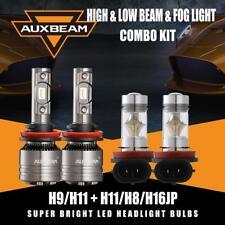 AUXBEAM H9/H11+H11/H8 Canbus LED Headlight Fog Bulbs for 2016-2019 Toyota Tacoma