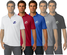 Tampa Bay Lightning NHL Golf Polo Shirt Embroidered