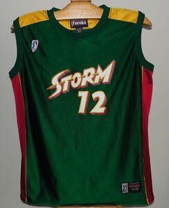 Edna Campbell Seattle Storm Basketball Jersey WNBA Size L