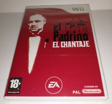 Nintendo Wii PAL version padrino el chantaje
