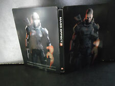 MASS EFFECT 3  LIMITED STEELBOOK STEELBOX CUSTODIA IN METALLO  NO GIOCO