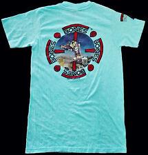 VINTAGE 80's 1988 POWELL PERALTA BONES MIKE MCGILL SKATE SKATEBOARD T-SHIRT