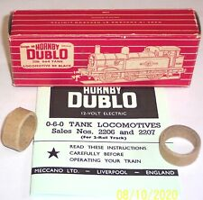 More details for hornby dublo 2206 0-6-0 tank loco b.r. empty box & instructions & packing rings.
