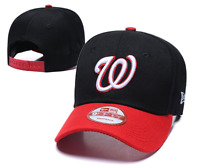 Men's Washington Nationals New Era Navy/Red 2019 Alternate 9FIFTY Adjustable Hat