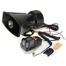 100W 12V Car Truck Alarm Police Fire Loud Speaker PA Siren Horn MIC System Kit