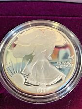 1991 & 1992 Silver American Eagle Proofs