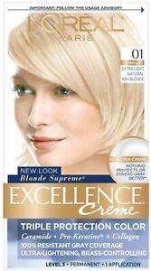 L'Oreal Paris Excellence 01 Triple Protection Permanent Hair Color Light Blonde