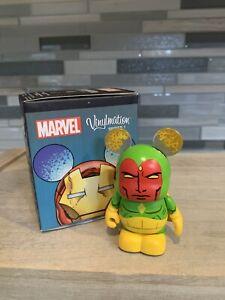 Retired 2013 Disney's Vinylmation Marvel Comics Series 1 Vision Figurine