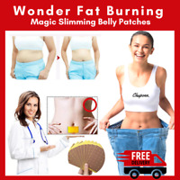10X Wonder Slimming Patch Slim Belly Weight Loss Abdomen Detox Pads Burning Fat