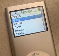 iPod Nano 2nd Generation 2Gb Silver A1199