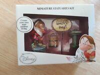 Disney Grumpy Dwarf Miniature Statuaries Kit Figurines Garden Outdoor Decor