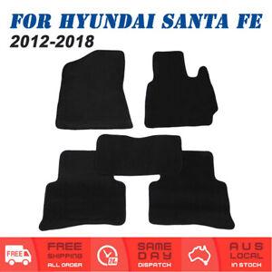 Car Carpet Floor Mats For Hyundai Santa Fe DM Series 2012 to 2018 Front & Rear