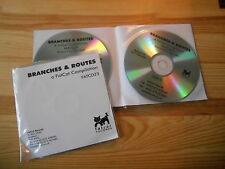 CD VA Branches & Routes 2CD (27 Song) Promo FATCAT Björk Sigur Ros