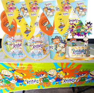 Reptar Party Treat Favor Boxes Rugrats Party Rugrats Gable Treat Boxes Party Favors