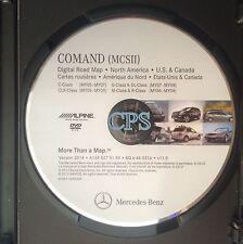 2014 Mercedes COMAND MCS II GPS V.11.0 Navigation Map Update Disc - BQ 6 46 0316