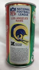 Vintage NFL 1976 Canada Dry Ginger Ale Los Angeles Rams Helmet Empty Can
