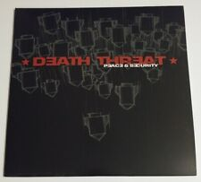 Death Threat Peace & Security LP NEW NYHC Punk Hardcore Buried Alive Madball