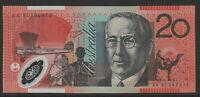 Macfarlane / Evans 1997 : First prefix AA97 Australian $20 Polymer Banknote, UNC