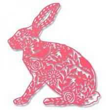 Sizzix Thinlits Plantilla Relieve salvaje Conejo de corte Die Georgia Baja 661689