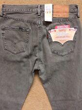 """Levi's 501ct Original Fit Men's Ripped Jeans, Gris, W30"""", L32"""", PVP £ 100"""