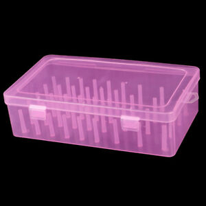 42 Axis Sewing Threads Box Transparent Needle Wire Storage Organizer Containe MM