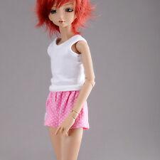Dollmore 1/4 BJD doll clothes  MSD SIZE - Sweet Underwear Set For Boy (Pink)