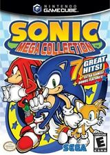 SONIC MEGA COLLECTION GAMECUBE GAME PAL