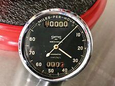 Nice Original Smiths Chronometric 100mph Speedometer Gauge BSA Triumph Norton
