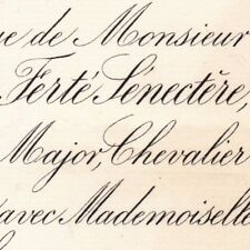 Antoine La Ferte-Senectere & Blanche Masse De Combles 1879