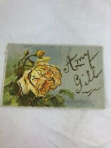 VINTAGE POSTCARD - COLOUR - SENT TO AMY GILL IN NORTH SHORE SYDNEY N.S.W.