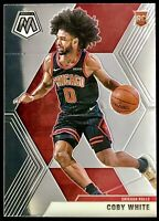2019-20 Panini Prizm Mosaic Coby White  Rookie Card RC NBA Chicago Bulls 📈🔥