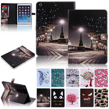 For iPad 2 3 4 Pattern Flip Leather Magnetic Smart Stand Case Cover Night Scene