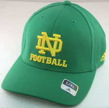 Notre Dame Fighting Irish Green Structured Fitted Hat By adidas, Size L/XL