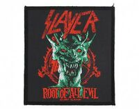 SLAYER root of all evil 2007 - WOVEN SEW ON PATCH official - no longer made