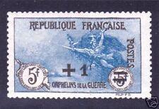 """FRANCE N°169a""""ORPHELIN NOIR & BLEU""""NEUFxxTTB,VALEUR:385"""