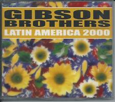 GIBSON BROTHERS - Latin America 2000 (REMIXES) CDM 5TR Italo Eurodance RARE!