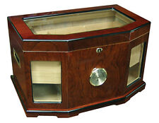 CHANCELLOR Large HUMIDOR with 2 Humidifiers and Hygrometer - Up to 300 Cigars