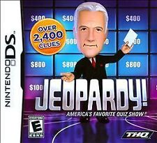 Nintendo DS Jeopardy Americas Favorite Quiz Show BRAND NEW SEALED SHIPS NEXT DAY