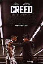 CREED Original DS 27x40 Movie Poster Sylvester Stallone Michael B. Jordan Rocky